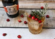 <p><strong>Ingredients</strong></p><p>1.5 oz Diplomático Mantuano Rum<br>3 oz ginger ale<br>Dash of cocoa bitters (optional)<br>Cranberries, for garnish<br>Rosemary, for garnish </p><p><strong>Instructions</strong></p><p>Fill a cocktail shaker with ice. Pour in the rum, ginger ale and bitters. Shake until well chilled. Strain into rocks glass. Garnish with fresh rosemary and cranberries. </p>
