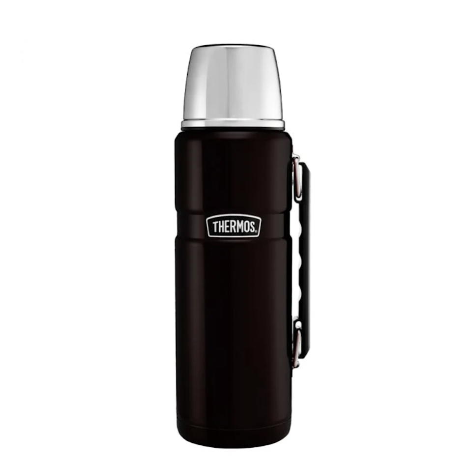 """<strong>Under £50</strong><br><br>I realise this probably isn't the coolest thing to treat yourself to but who doesn't love a warming cup of something at the end of a long walk?<br><br><strong>Thermos</strong> Stainless King™ Flask 1.2L, $, available at <a href=""""https://thermos.co.uk/stainless-kingtm-flask-1-2l"""" rel=""""nofollow noopener"""" target=""""_blank"""" data-ylk=""""slk:Thermos"""" class=""""link rapid-noclick-resp"""">Thermos</a>"""