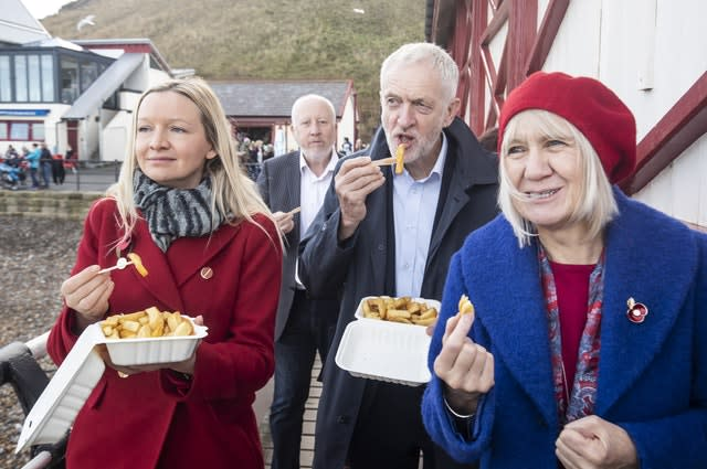 Jeremy Corbyn visit to North Yorkshire