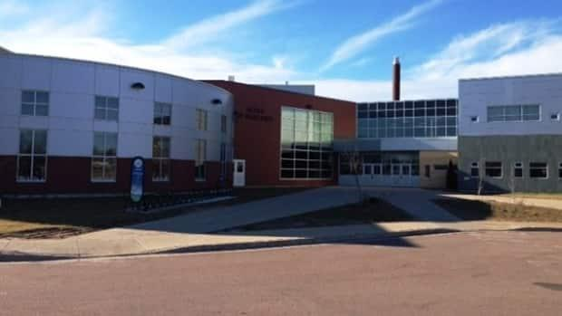 École Le Mascaret in Moncton was not open Wednesday.