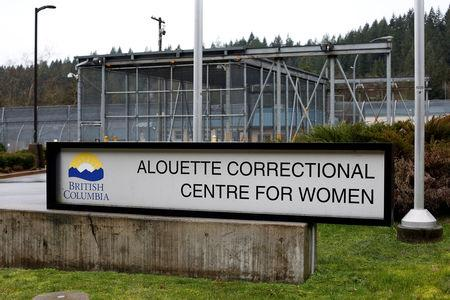 A sign of the Alouette Correctional Centre for Women, where Huawei CFO Meng Wanzhou is being held on an extradition warrant, is seen outside the facility in Maple Ridge, British Columbia, Canada December 8, 2018. REUTERS/David Ryder