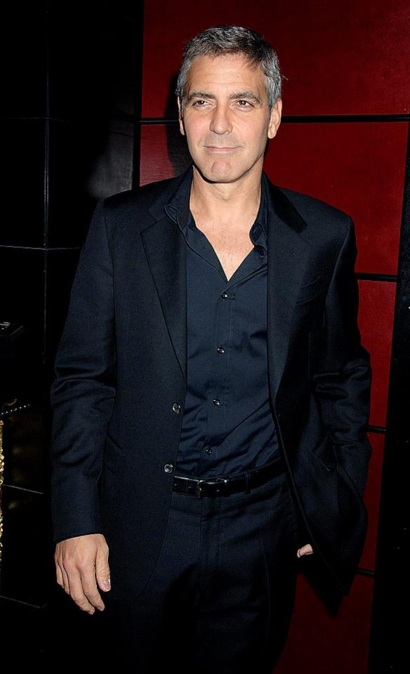 """5. George Clooney Dave M. Benett/<a href=""""http://www.gettyimages.com/"""" target=""""new"""">GettyImages.com</a> - April 7, 2008"""