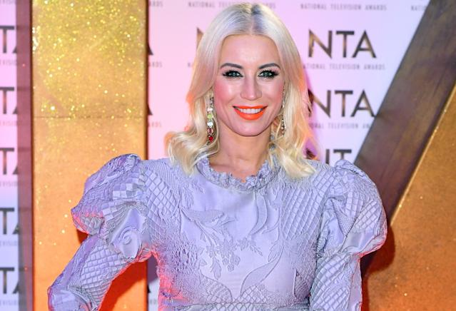 """Denise Van Outen was sober for a year before she fell """"massively off the wagon"""". (PA)"""