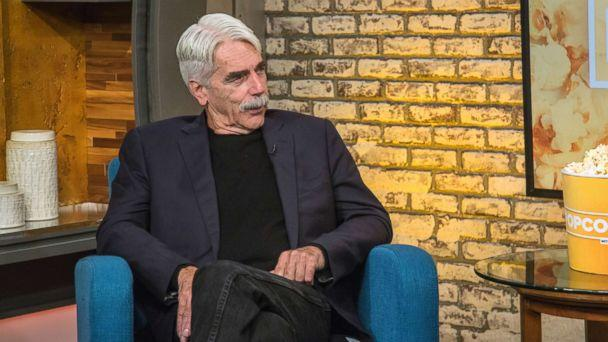 PHOTO: Sam Elliott appears on 'Popcorn with Peter Travers' at ABC News studios, Oct. 4, 2018, in New York City. (Maryellen McGrath/ABC News)