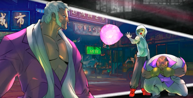 Ed as seen in Urien's Street Fighter V Story Mode (Capcom)