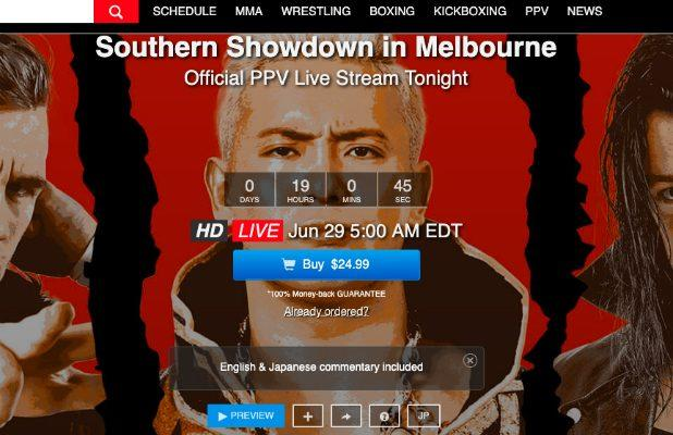 FITE TV Boss Is 'Optimistic' About NJPW 'Southern Showdown' PPV Sales – Despite 5 AM Start Time