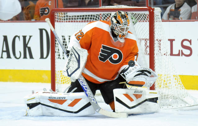 Rob Zepp starting for Flyers, debuting in NHL after 13 years