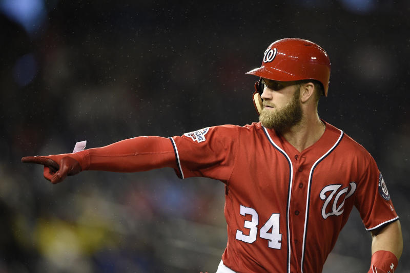 Giants met with Bryce Harper after sides had mutual interest