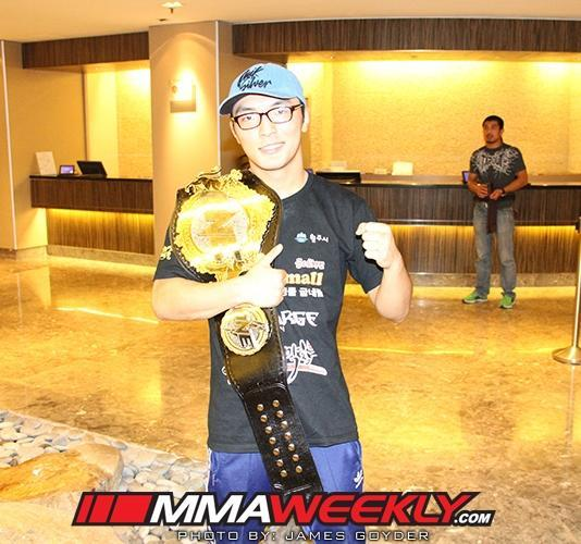 ONE FC Champion Soo Chul Kim Revels in Underdog Role Heading into Unification Bout