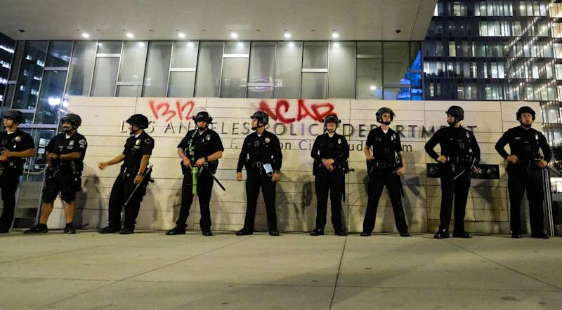 LA City Council may cut $150M from police budget amid Floyd protests