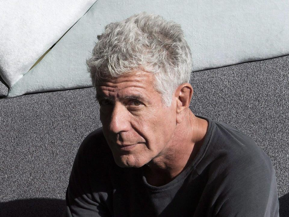 <p>A legacy honoured: Anthony Bourdain in 2016</p> (Canadian Press/Shutterstock)