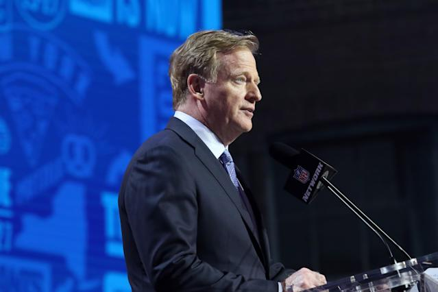 NFL commissioner Roger Goodell has pushed for an 18-game regular season, along with team owners. But would players agree to this? (Getty Images)