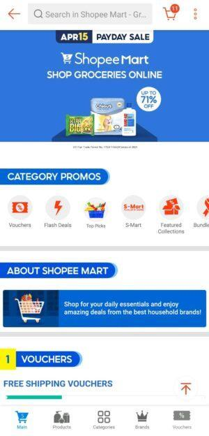 Online Grocery Delivery in the Philippines - Shopee Mart