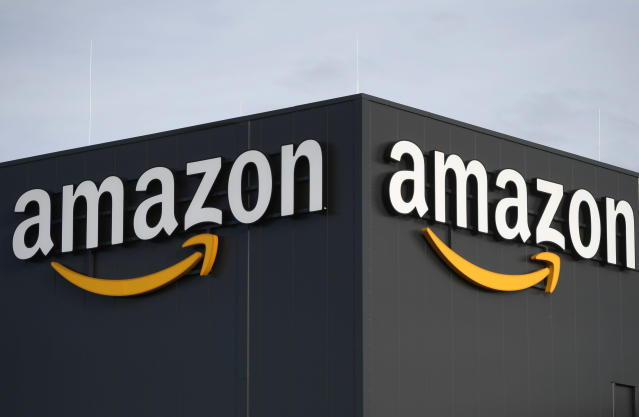 Amazon has also announced it will hire 100,000 warehouse and delivery workers in the US to handle the coronavirus related surge in sales. (Ine Fassbender/AFP via Getty Images)
