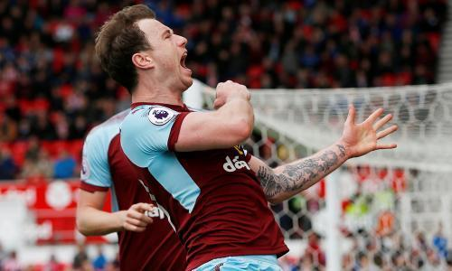 Stoke's survival hopes receding after Burnley salvage point