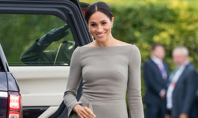 Meghan Markle: any colour as long as it's beige.