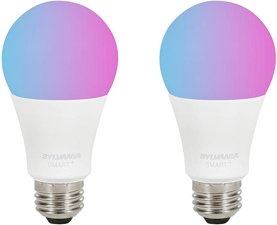 This bulb offers a full range of color. (Photo: Amazon)