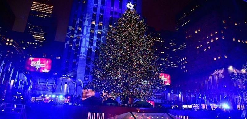 rockefeller center christmas tree lighting tv schedule 2018 new york - 2018 Rockefeller Center Christmas Tree Lighting: How, When, And