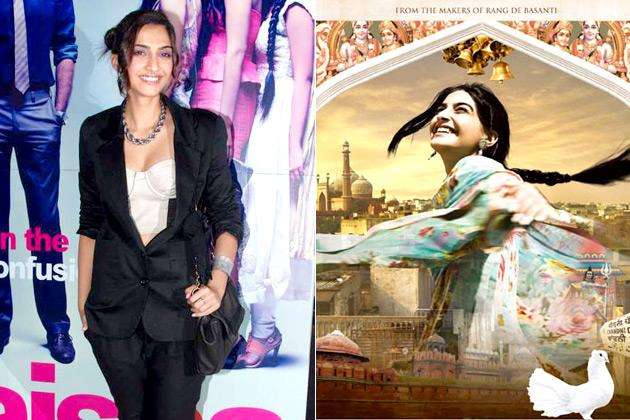 <b>6. Sonam Kapoor:</b><br> Style icon Sonam Kapoor, is known for her fashionable outfits. 'Delhi 6' was one of the movies which brought to light her elegance and grace on-screen. Patiala salwars, high-necked kurtis and Anarkali salwars became a huge hit after the movie and almost every woman was spotted donning one! Another movie where costumes made women go gaga, was 'Aisha'. Fashion was an important element in the movie, moving away from chiffons chiffon saris and tight tops that were so popular in Bollywood films for the past decade. If the movie showed off high end brands like Christian Dior and Salvatore Ferragamo, one would also spot stuff from flea markets.<br><br>