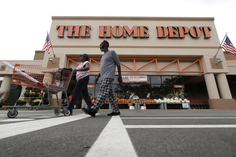 Home Depot's growth accelerates in Q4