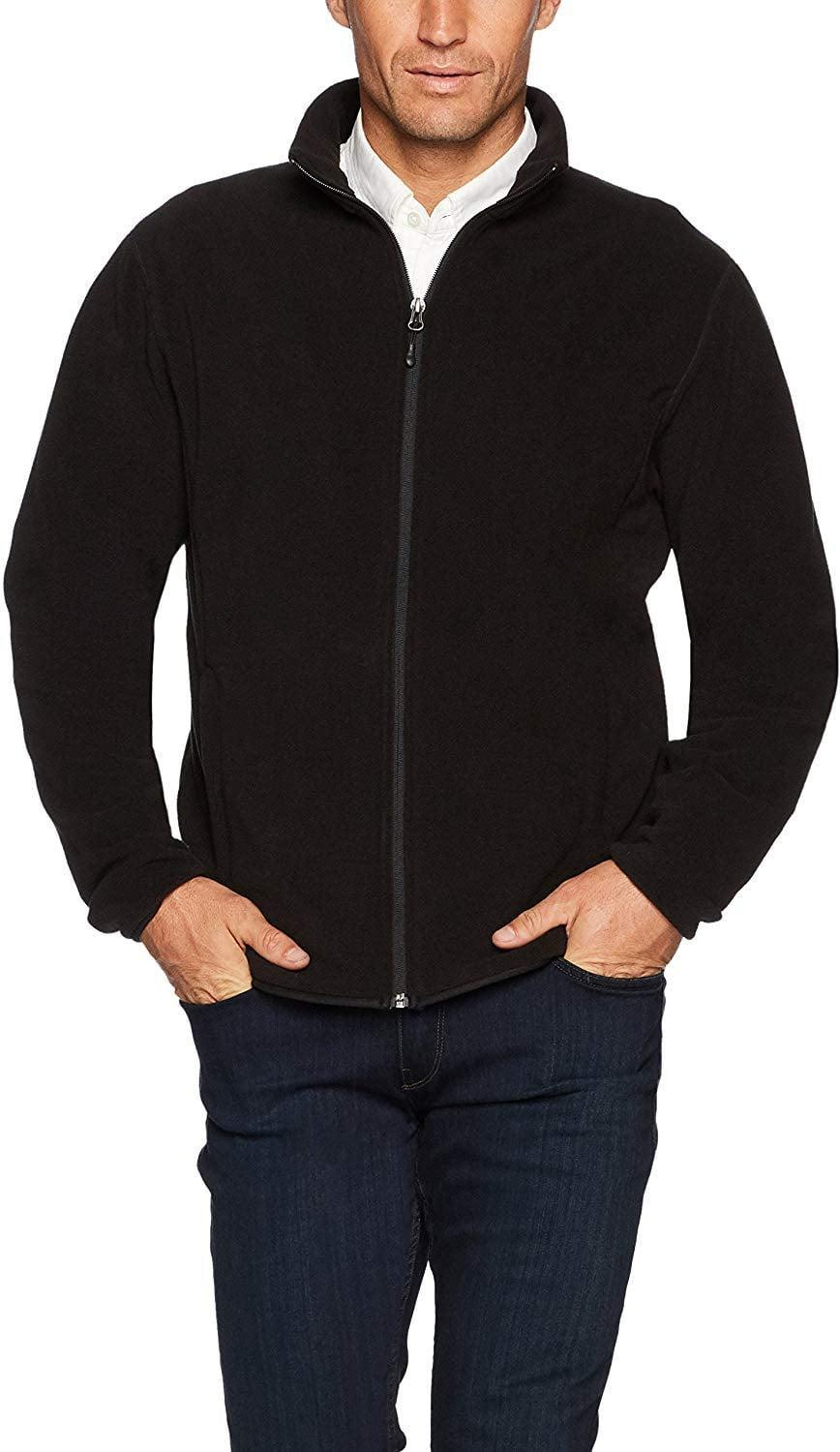 <p>We are big fans of this versatile <span>Amazon Essentials Men's Full-Zip Polar Fleece Jacket</span> ($21).</p>