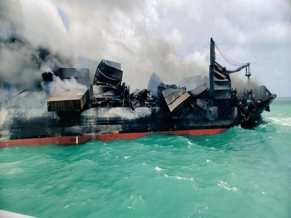 The fire on MV X-Press Pearl container ship has largely been controlled by Navies and Coast Guards of India and Sri Lanka.