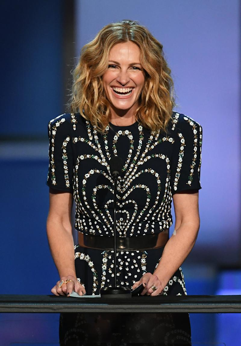 Julia Roberts at the American Film Institute Life Achievement Awards on June 6, 2019 in Hollywood.
