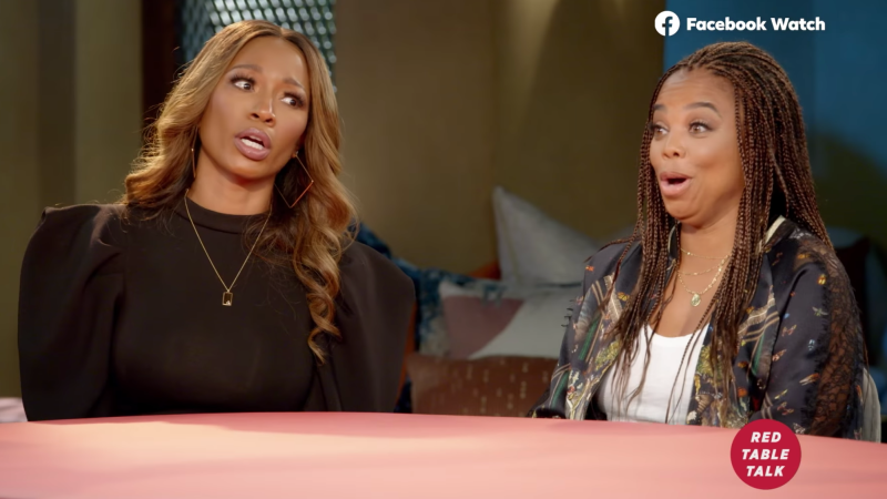 'Stick to Sports' co-hosts Cari Champion, left, and Jemele Hill