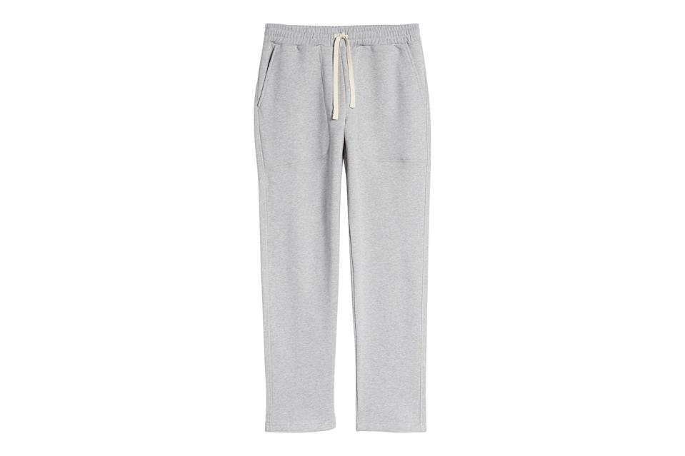 "$195, Nordstrom. <a href=""https://www.nordstrom.com/s/norse-projects-falun-mens-classic-sweatpants/5780884?origin=category-personalizedsort&breadcrumb=Home%2FSale%2FMen&color=dark%20navy"" rel=""nofollow noopener"" target=""_blank"" data-ylk=""slk:Get it now!"" class=""link rapid-noclick-resp"">Get it now!</a>"