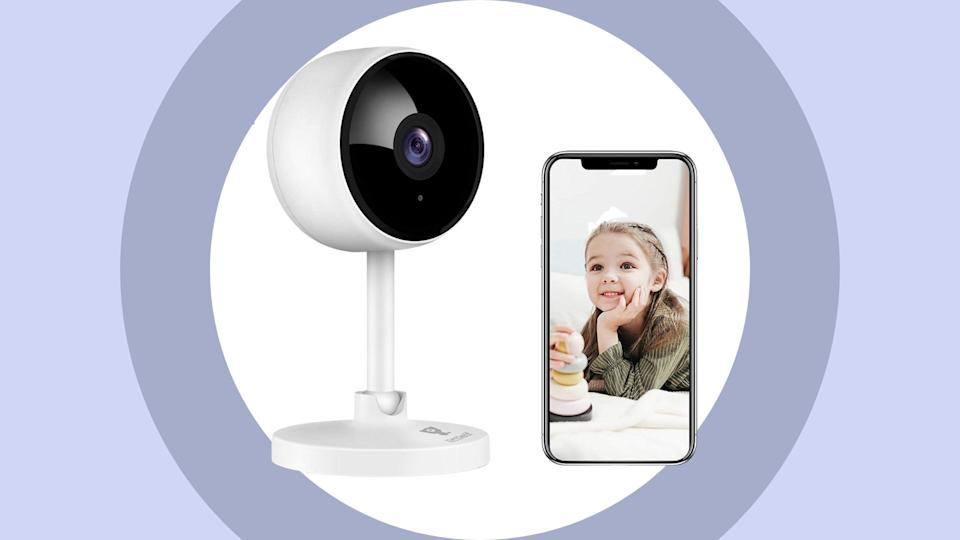 Littlelf Wifi Wireless Indoor Camera - available on Amazon.