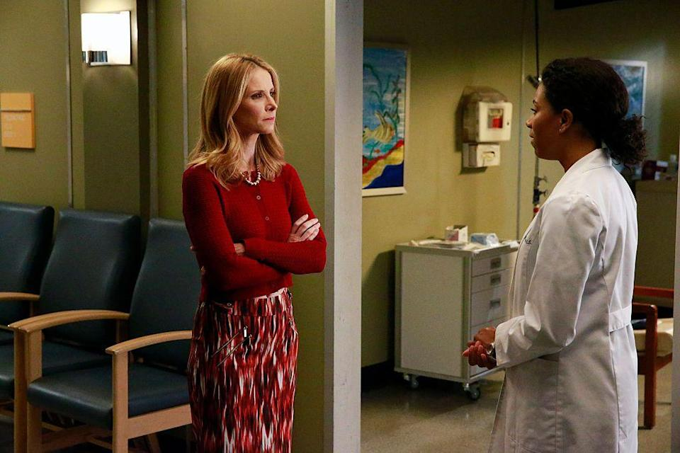 <p>Joey, played by Jenny Cooper, is Mel's occasionally overbearing older sister. She still lives in L.A. and is constantly worrying about Mel—but Joey has her own personal problems to face. </p><p>In real life, Jenny has appeared on <em>Grey's Anatomy</em>, <em>Open Heart</em>, and <em>24</em>. </p>