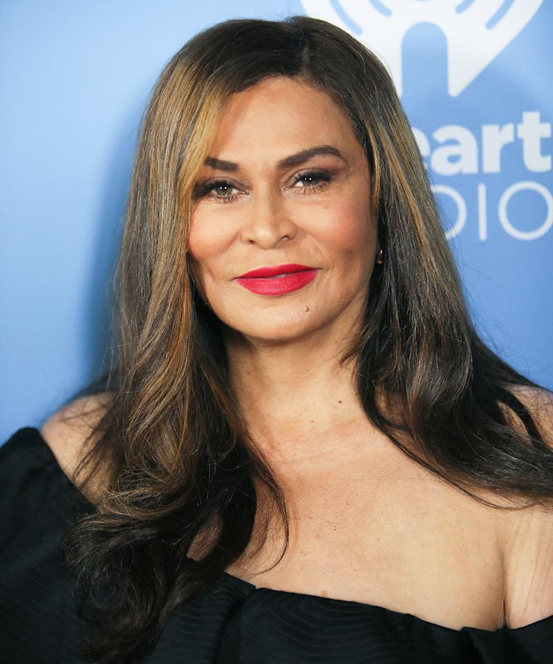 63-Year-Old Tina Knowles Slays in an Ivy Park Crop Top and Spandex Leggings