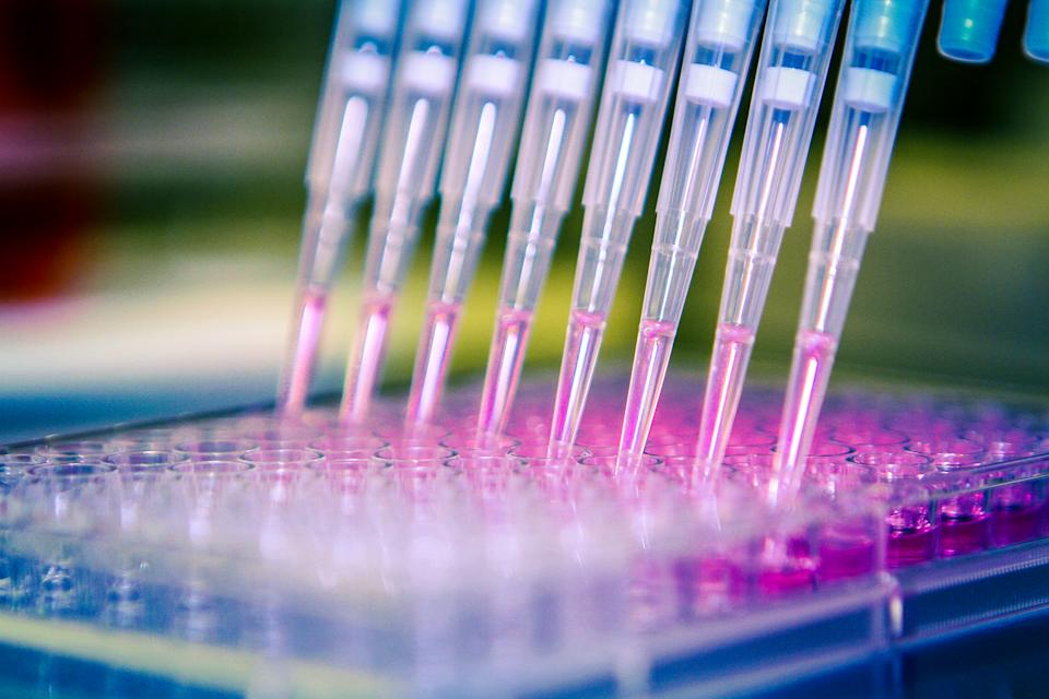 Shares in the DNA-sequencing company rocketed on their first day of trading. Photo: Getty