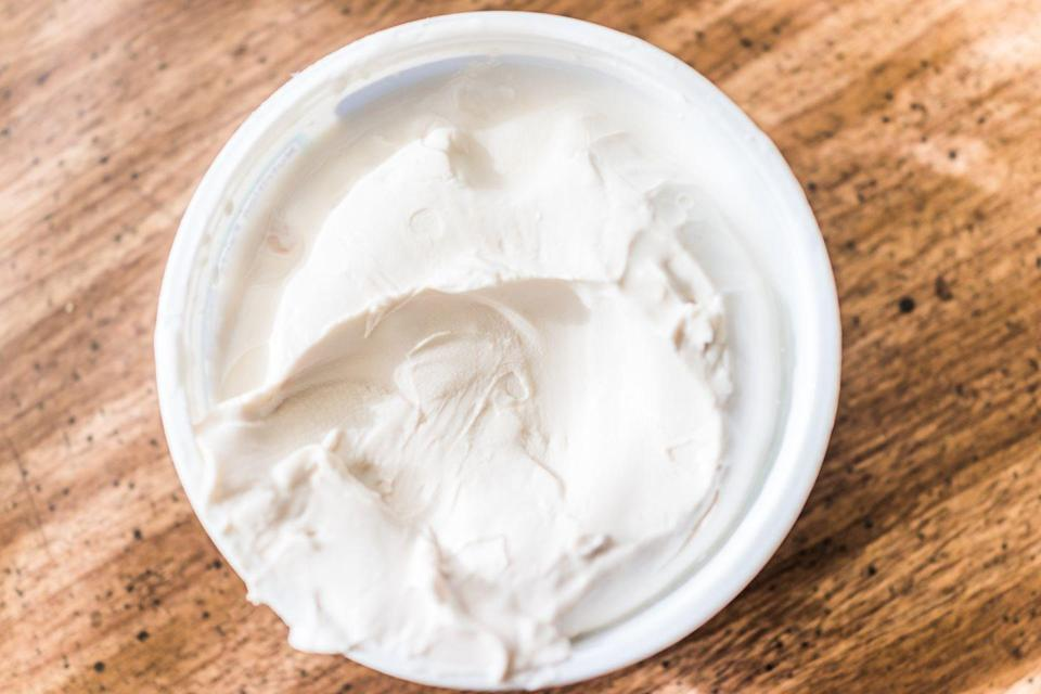 """<p>Tangy cream cheese and mascarpone can both serve as heavy cream substitute in a pinch. If stirring them into a hot recipe, they can be used as is, as they will melt into a creamy pool; for a consistency more closely resembling that of heavy cream, thin them with milk beforehand. You can beat cream cheese with a little confectioners' sugar to make a dessert topping (like cream cheese frosting), but it won't be nearly as light and airy as whipped cream. <br></p><p><a class=""""link rapid-noclick-resp"""" href=""""https://go.redirectingat.com?id=74968X1596630&url=https%3A%2F%2Fwww.walmart.com%2Fsearch%2F%3Fquery%3Dpioneer%2Bwoman%2Butensil%2Bcrock&sref=https%3A%2F%2Fwww.thepioneerwoman.com%2Ffood-cooking%2Fcooking-tips-tutorials%2Fg36970554%2Fheavy-cream-substitute%2F"""" rel=""""nofollow noopener"""" target=""""_blank"""" data-ylk=""""slk:SHOP UTENSIL CROCKS"""">SHOP UTENSIL CROCKS</a></p>"""