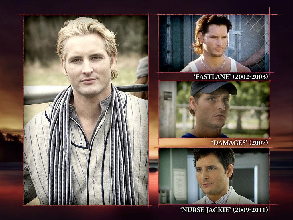 "<b>Peter Facinelli (Carlisle Cullen)</b><br><br>Name a show, and we'll bet cold, hard cash that Peter Facinelli's porcelain mug has been on it. It makes sense; he's been alive for hundreds of years, right? After landing a guest-starring role as Shane Sutter on ""<a>Law & Order</a>"" (1995) and some work in various TV movies, Peter switched over to the big screen and concentrated on making movies. He returned to television a few years later as embittered cop Donovan ""Van"" Ray in Fox's ""<a>Fastlane</a>"" (2002-2003). After bailing on the police, Peter moved over to HBO, starring as Jimmy on ""<a>Six Feet Under</a>"" (2004-2005) and then, after more TV movies, landed a gig on Glenn Close's critically acclaimed cable drama ""<a>Damages</a>"" as Gregory Maline in 2007. So, what's Peter up to these days? He's trolling the E.R. as laid-back Dr. Fitch Cooper on Showtime's ""<a>Nurse Jackie</a>"" (2009-2012). So that's how he knew how to fix Bella's sprained arm."