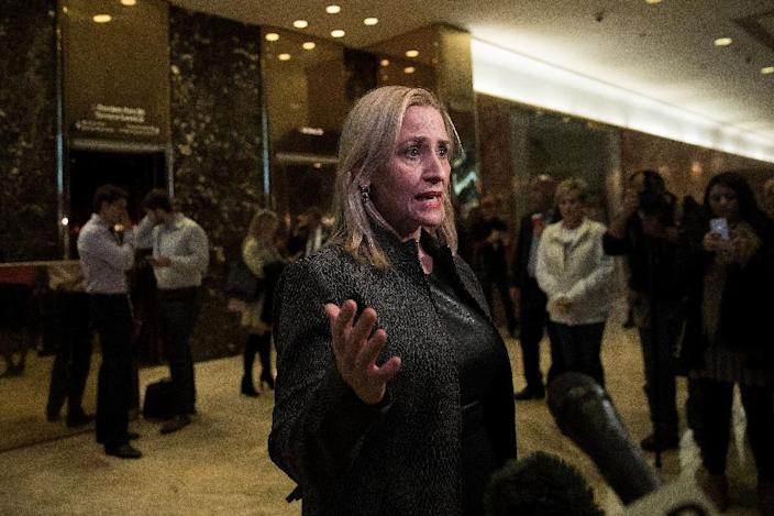 Arkansas Attorney General Leslie Rutledge filed an application with the US Supreme Court to obtain permission to proceed with the execution of Don Davis (AFP Photo/Drew Angerer)
