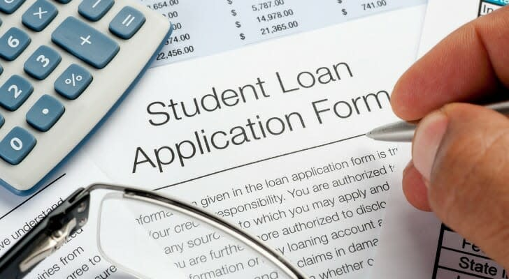 College student loan application