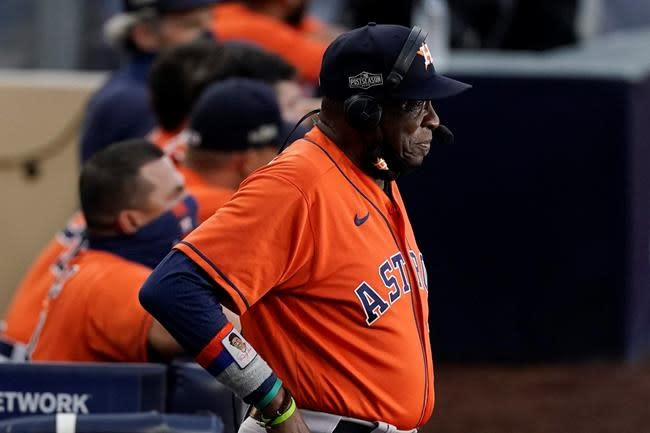 Astros overcome adversity to come 1 win shy of World Series