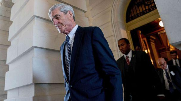 PHOTO: Former FBI Director Robert Mueller, the special counsel probing Russian interference in the 2016 election, departs Capitol Hill following a closed door meeting in Washington, June 21, 2017. (Andrew Harnik/AP, FILE)