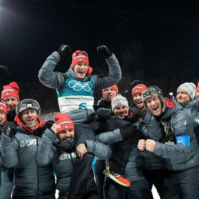 <p>Benedikt Doll: Germany, biathlon<br> benediktdollbiathlon: A dream come true…an Olympic Medal<br>(Photo via Instagram/benediktdollbiathlon) </p>
