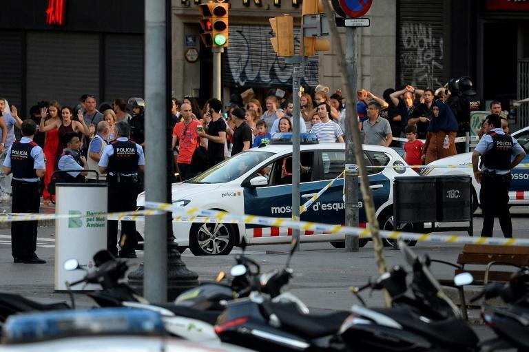The Islamic State group claimed the bloodshed of August 17-18, 2017, when pedestrians were mown down by a van in Barcelona and others were attacked at a nearby seaside town