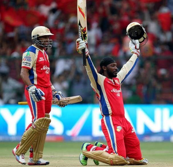 Chris Gayle's 175 is the highest individual score in IPL history.