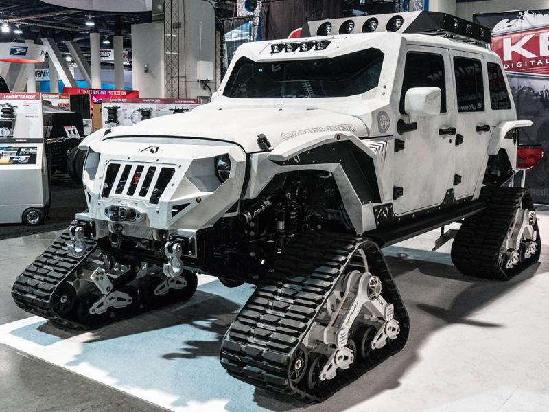 Chris Kyle Frog Foundation Jeep Unveiled At SEMA 2016