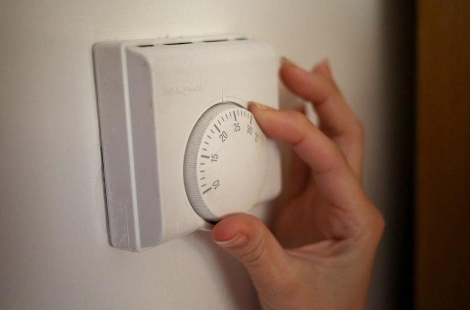The cost of heating homes will soar because of higher gas prices (Steve Parsons/PA) (PA Wire)