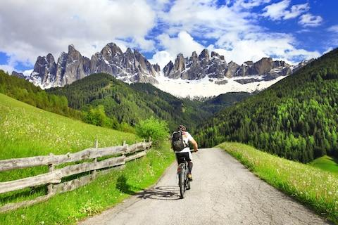 The Dolomites suit serious cyclists - Credit: Freesurf - Fotolia