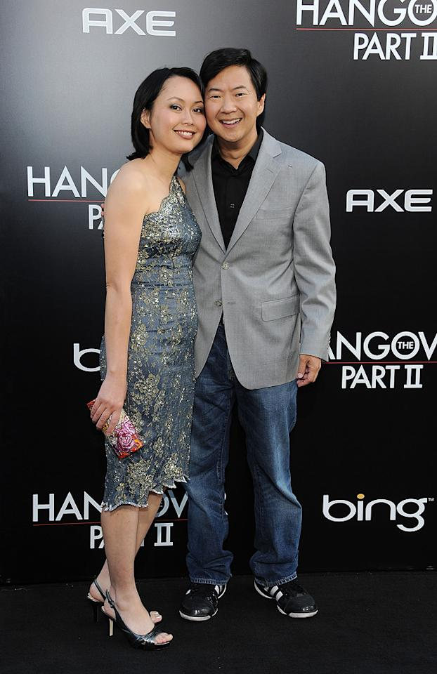 """<a href=""""http://movies.yahoo.com/movie/contributor/1809737459"""">Ken Jeong</a> and guest attend the Los Angeles premiere of <a href=""""http://movies.yahoo.com/movie/1810187722/info"""">The Hangover Part II</a> on May 19, 2011."""