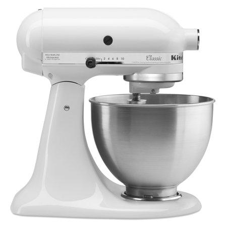 KitchenAid Classic Series 4.5 Quart Tilt-Head White Stand Mixer (Photo: Walmart)