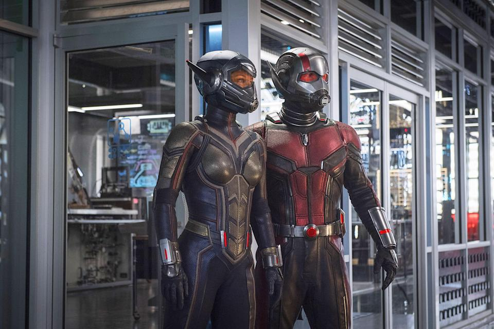 Giant Man was a give away in Ant-Man and the Wasp