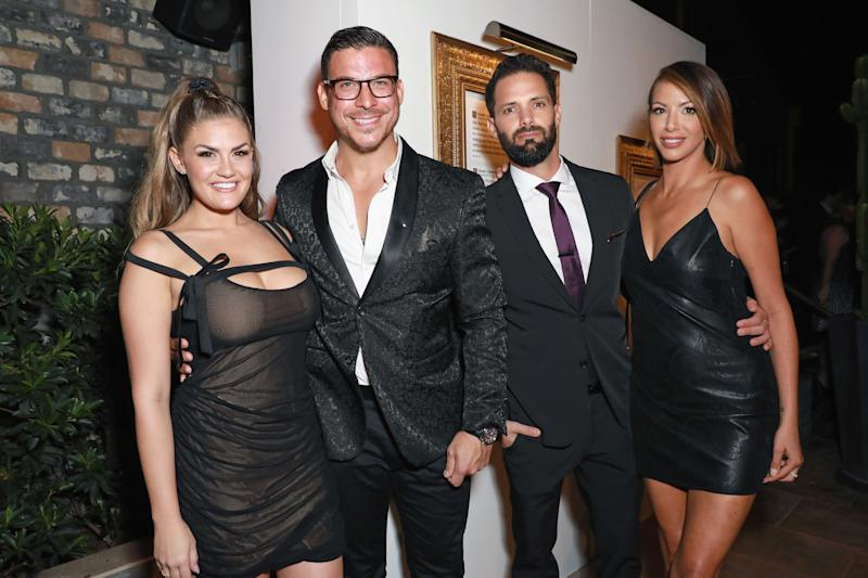 Brittany Cartwright, Jax Taylor, Brian Carter, and Kristen Doute at event