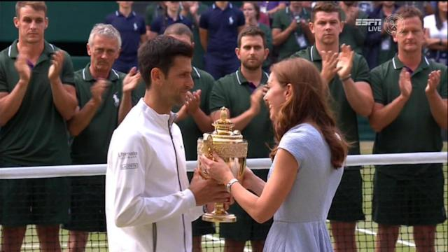 Djokovic won his fifth Wimbledon title after an almost five-hour match, officially now the longest Wimbledon final in history.